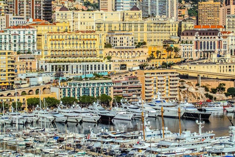 Principaute de Mónaco y de Monte Carlo imagen de archivo