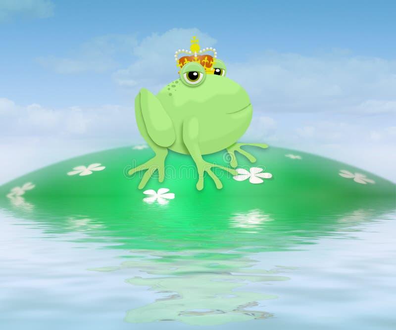 Principe della rana royalty illustrazione gratis