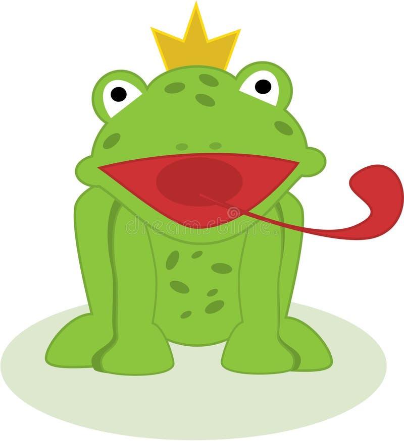 Principe della rana di vettore royalty illustrazione gratis