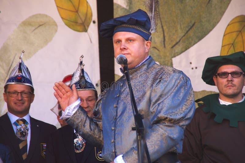 Principe di carnevale, Ptuj, Slovenia immagini stock libere da diritti