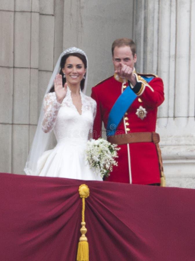 Principe William, Catherine Middleton immagine stock libera da diritti
