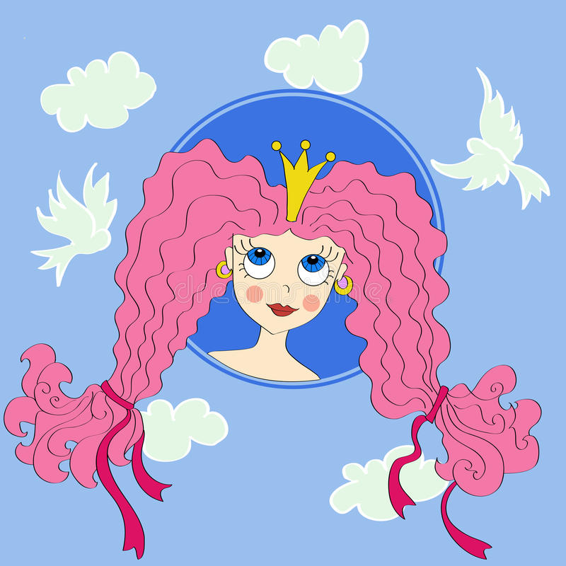 Principessa royalty illustrazione gratis