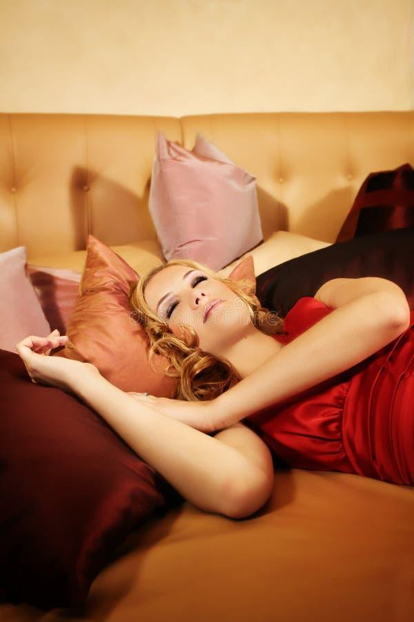 Principessa addormentata piccola fotografie stock libere da diritti
