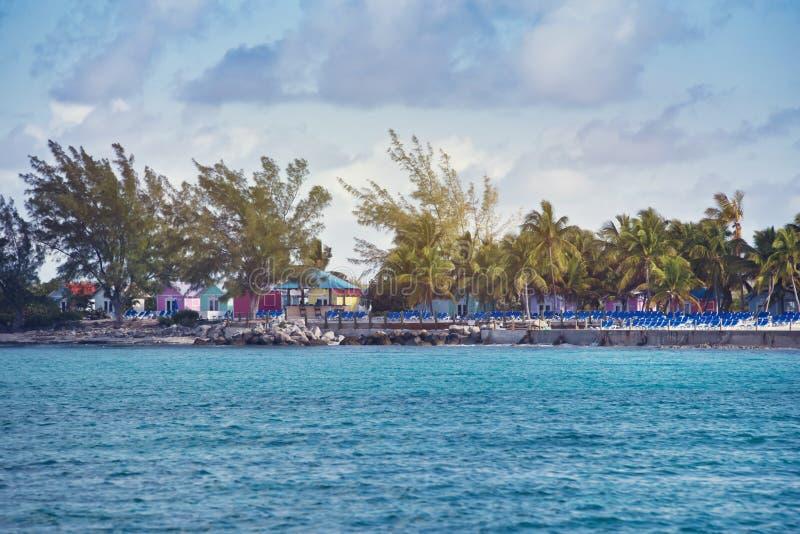 Principessa Cays in Bahamas immagini stock