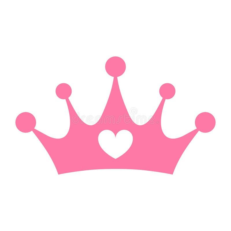 Principessa Crown illustrazione di stock