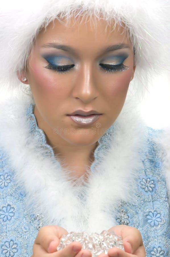 Principessa della neve fotografie stock
