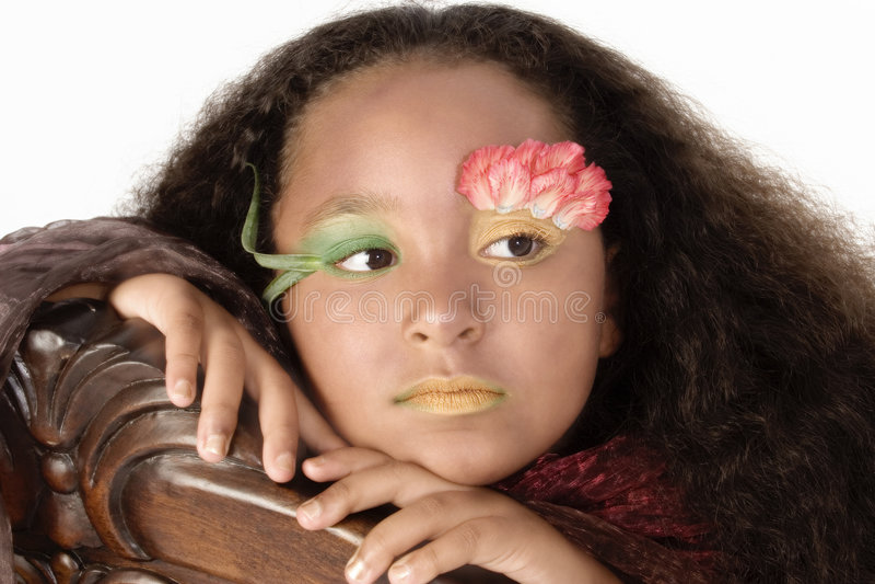 Principessa di Fllower fotografia stock libera da diritti