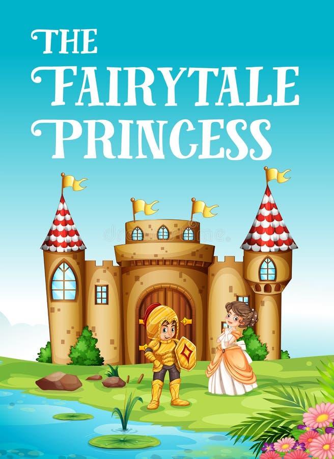 Principessa e cavaliere di fiaba royalty illustrazione gratis