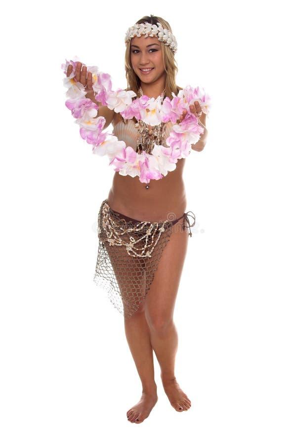 Principessa Lei dell'isola fotografie stock libere da diritti