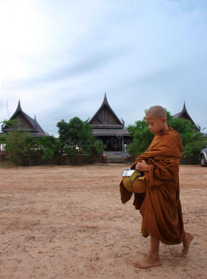 Principiante budista fotos de stock