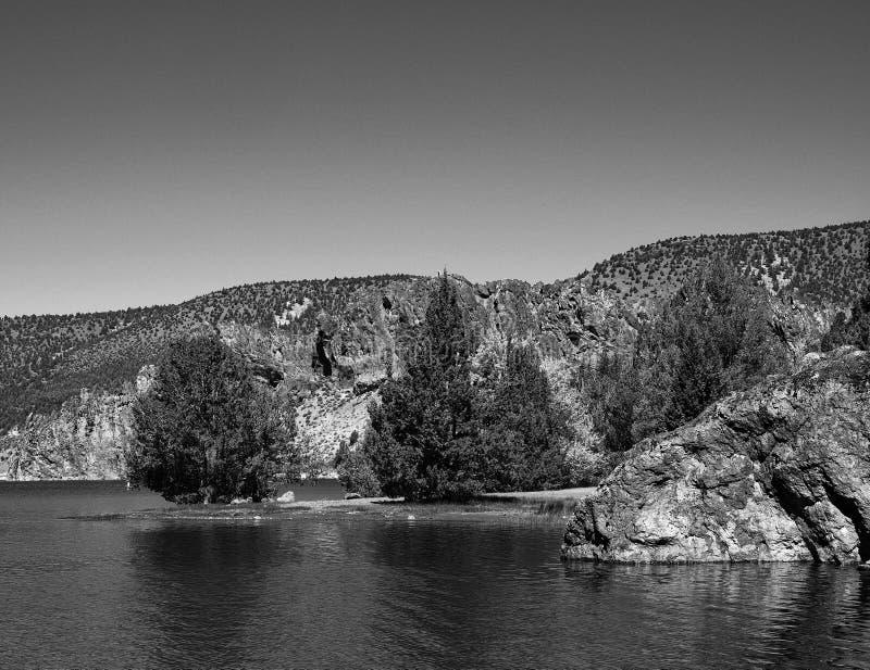 Prineville Reservoir Point stock photography