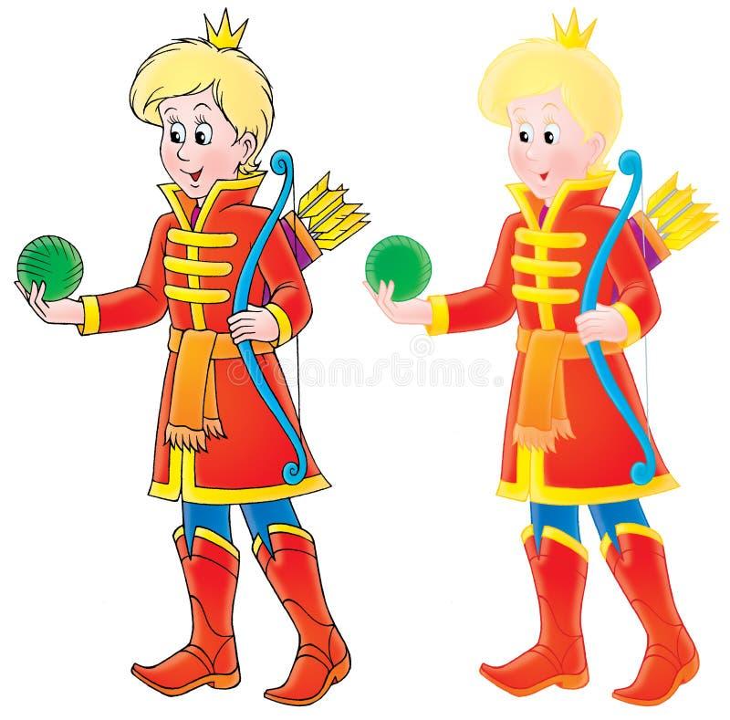 Prins stock illustratie