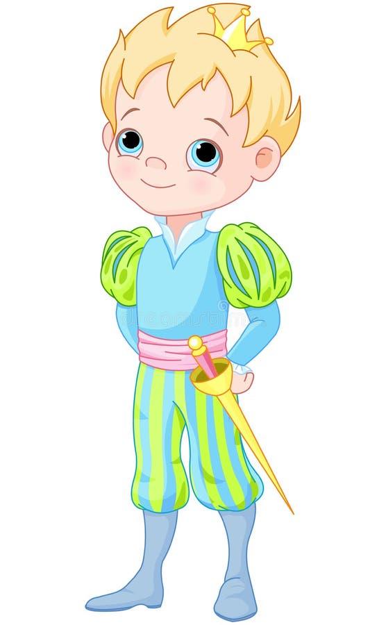 prins royalty-vrije illustratie