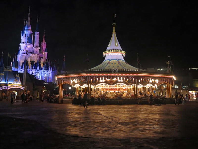 Prins Charming Regal Carousel arkivbilder