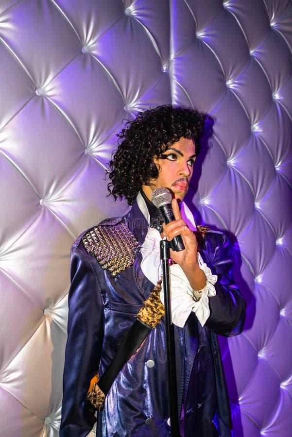 Prins musikern och sångaren royaltyfri foto