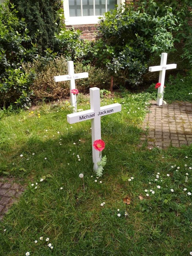 Prinsenhof - cmentarniana instalacja w Delft fotografia royalty free