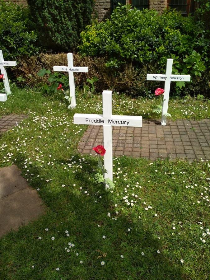 Prinsenhof - cmentarniana instalacja w Delft zdjęcia royalty free