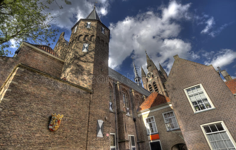Prinsenhof Delft. The Prinsenhof in Delft, Holland royalty free stock images