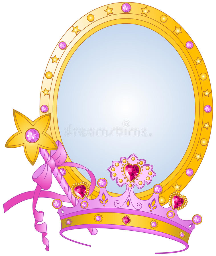 Prinses Collectibles vector illustratie