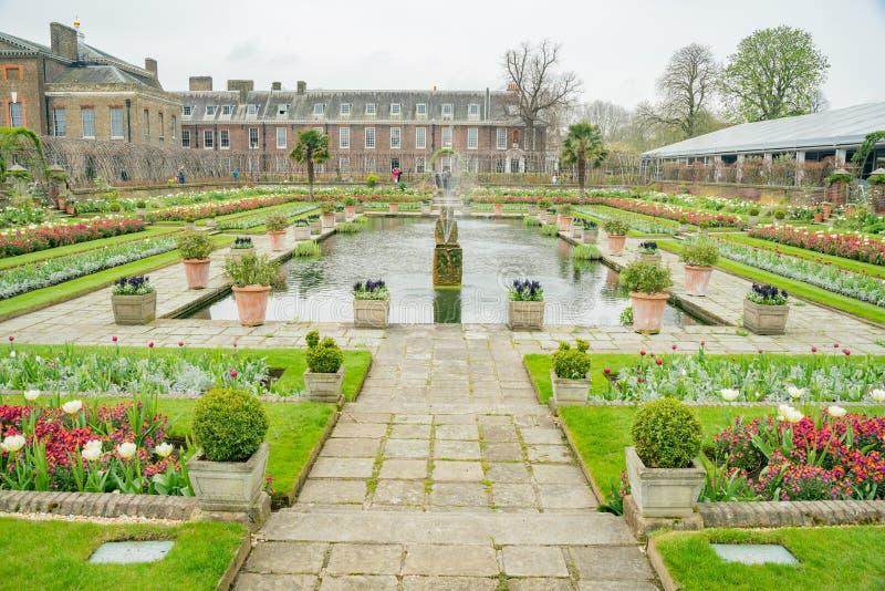 Prinses Diana Memorial Garden in Hyde Park royalty-vrije stock fotografie