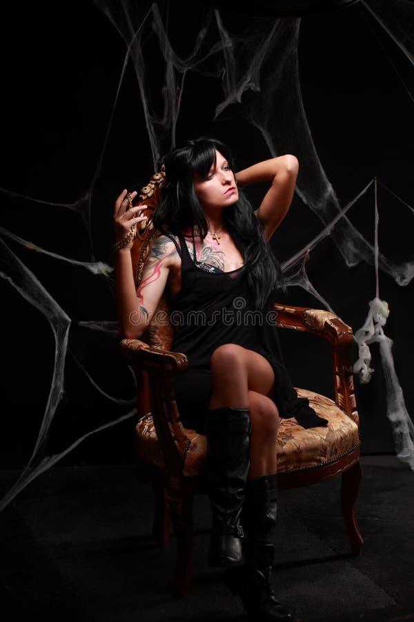 Prinses van de duisternis royalty-vrije stock afbeeldingen