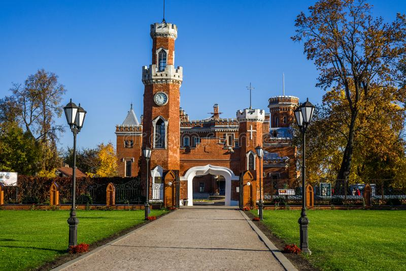 Prinses van het kasteel van Oldenburg Rusland stock foto's