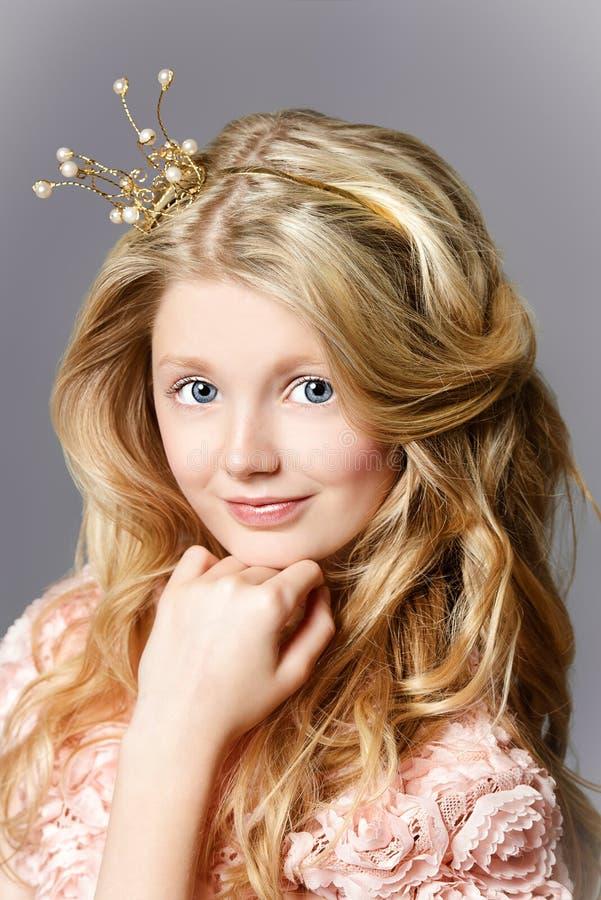 Prinseskroon royalty-vrije stock afbeelding