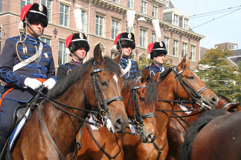 Download Prinsjesdag Cavalry editorial photography. Image of hussars - 16195092