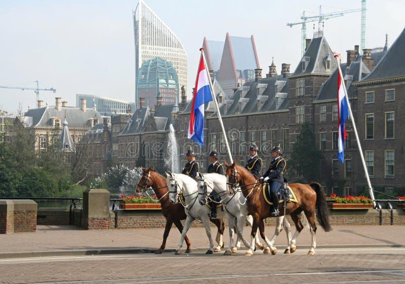 Download Prinsjesdag Cavalry editorial stock image. Image of binnenhof - 16195129