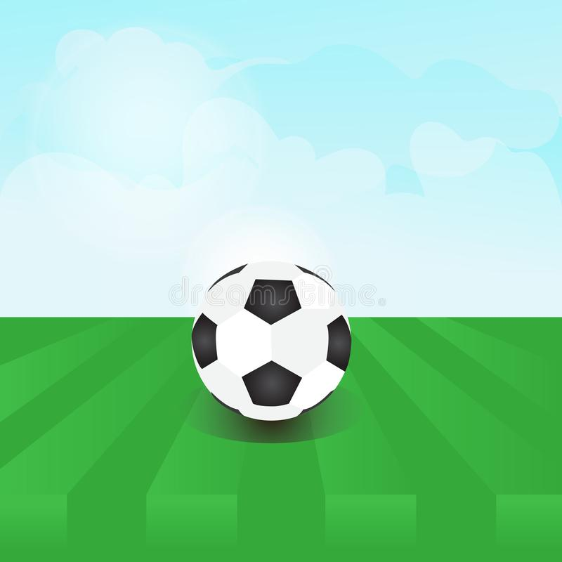 SoccerBall colorful vector a daily stock images
