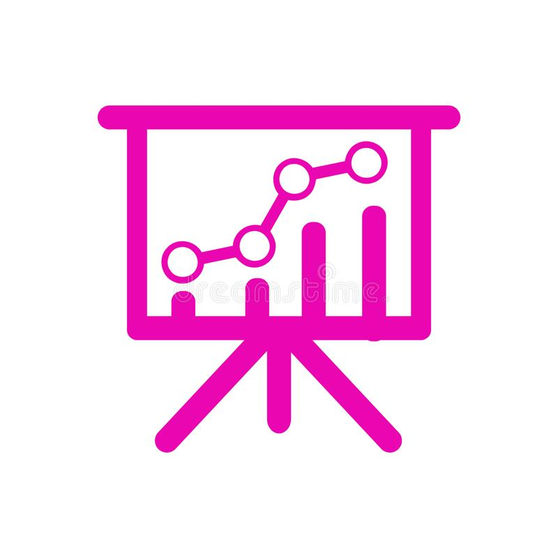 Business analysis, research, graph , chart, business rank icon. Business , rank , position , business growth , flow , chart is full editable stock illustration