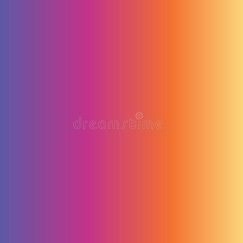 Abstract gradient background purple pink orange yellow fading vector illustration