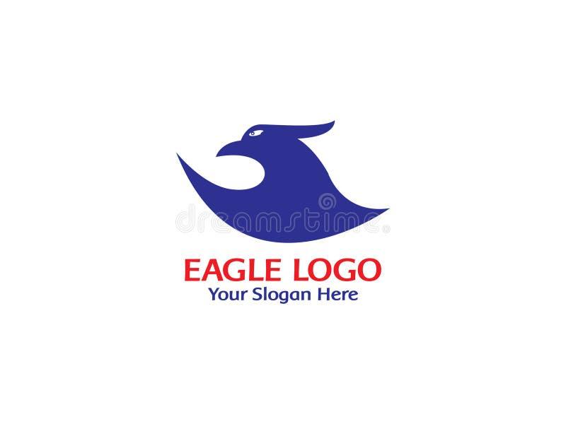 Eagle logo vector royalty free illustration