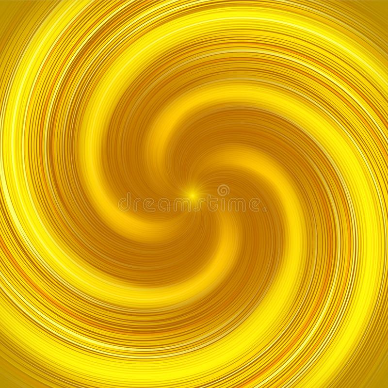 Abstract yellow twist background. Vector Illustration, Can resize any fit and hopefully as you wish royalty free illustration