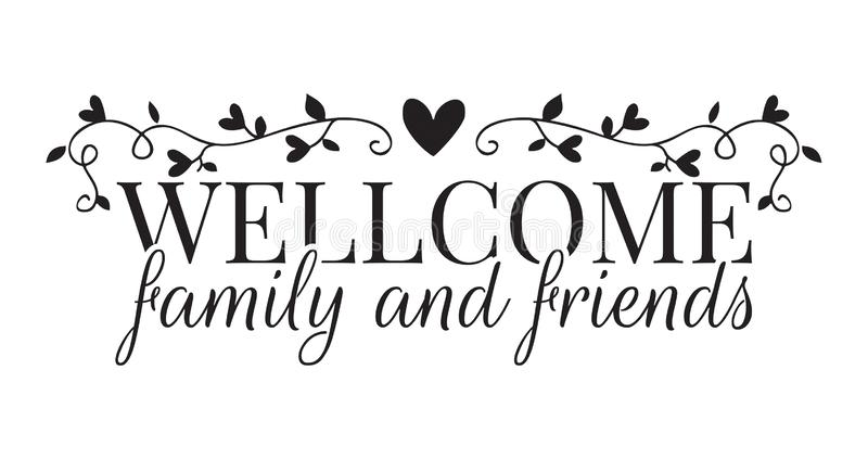 Friends Family Quotes Stock Illustrations – 28 Friends ...