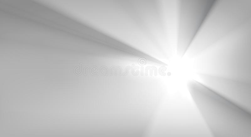Rays background, vector illustration. Black and white rays background, vector illustration stock illustration
