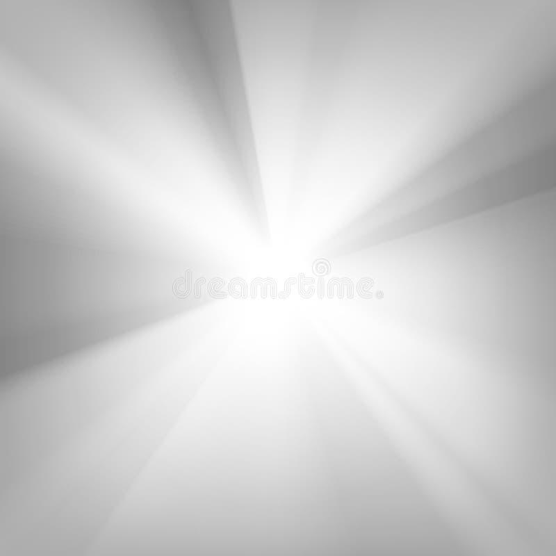 Rays background, vector illustration. Black and white rays background, vector illustration royalty free illustration