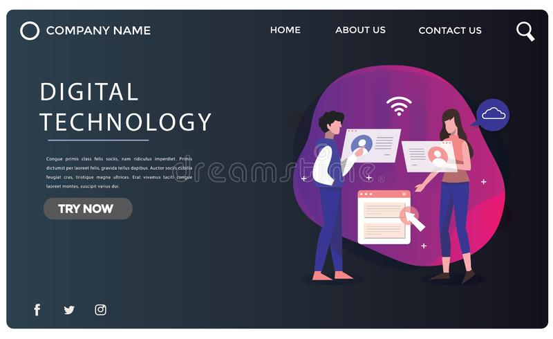 Abstract landing page design -abstract. Abstract landing page design you can use design web pages,landing pages and banners it is 100% and use Adobe AI royalty free stock images