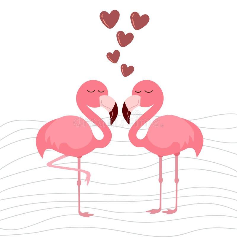 Print cute flamingo. Cute flamingo, vector illustration pattern stock illustration
