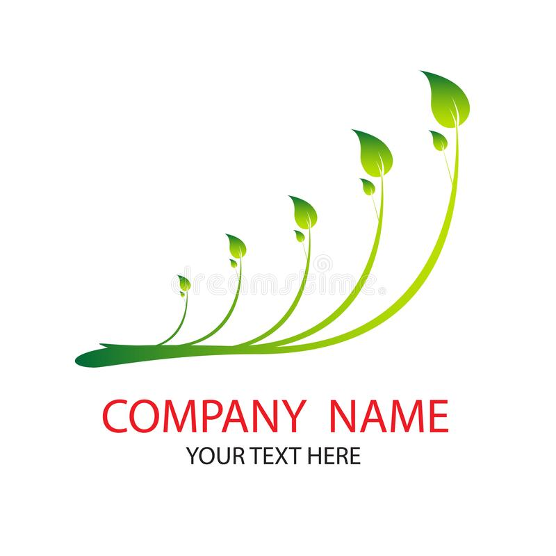 Leaves. green leaves with white background. vector illustration
