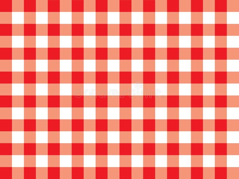 Gingham pattern stock illustration
