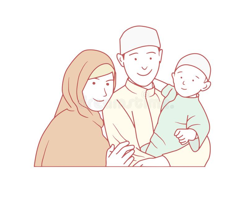 Muslim family clipart Stock Vectors, Royalty Free Muslim family clipart  Illustrations - Page 2   Depositphotos®