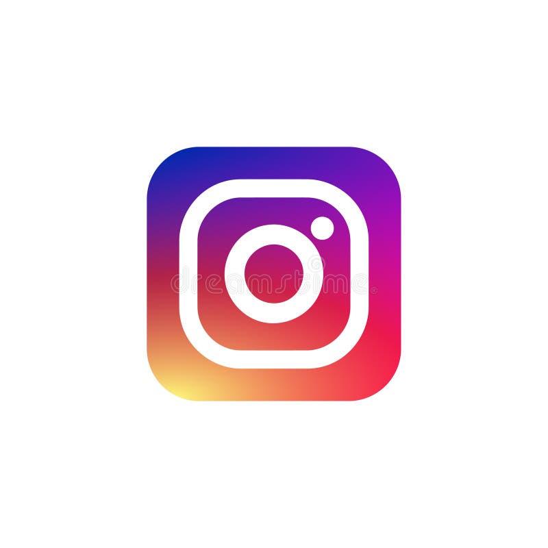 Vector Illustration Instagram: Instagram Vector Logo.Pictogram Icon For Web Design