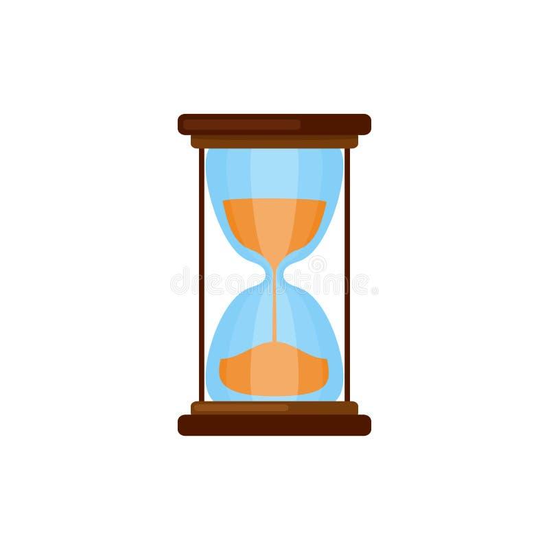 Simple hourglasses icon vector illustration
