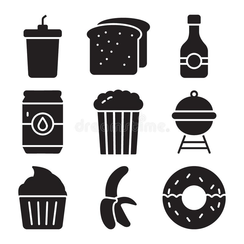 Food Items Vector Pack royalty free illustration