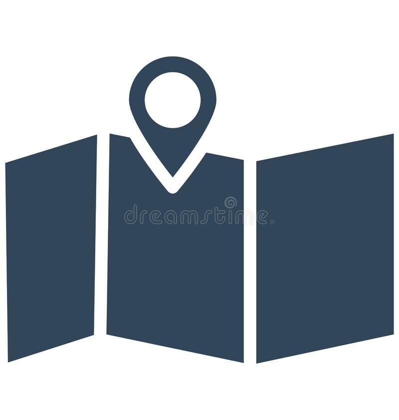 Print Exact location Isolated Vector Icon which can easily modify or edit. Exact location Isolated Vector Icon which can easily modify or edit royalty free illustration