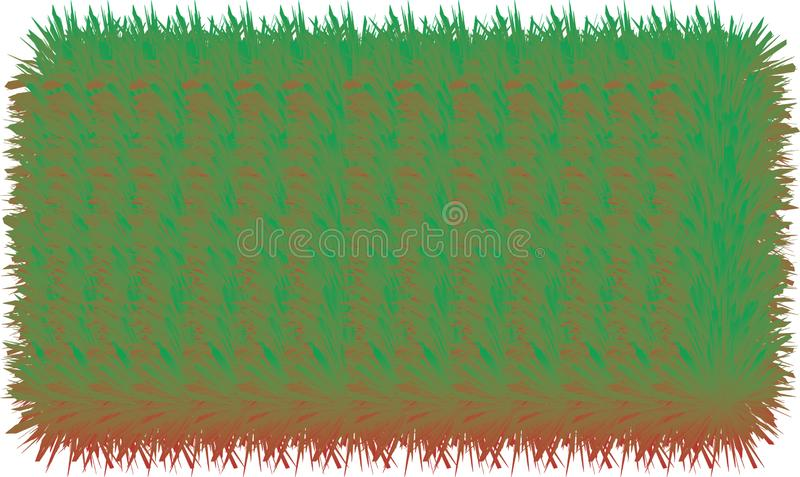3D colorful hairy lines. 3D colorful hairy texture lines royalty free illustration