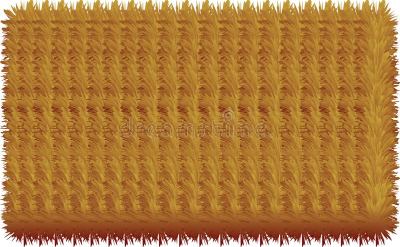 3D colorful hairy lines. 3D colorful hairy texture lines vector illustration