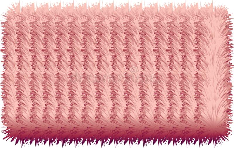 3D colorful hairy lines. 3D colorful hairy texture lines.nPink and light rose colors.nGreat textures and effect.nMy idea my work: design, work , background stock illustration