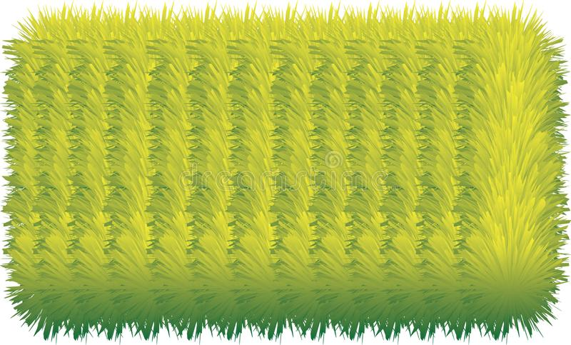 3D colorful hairy lines. 3D colorful hairy texture line vector illustration